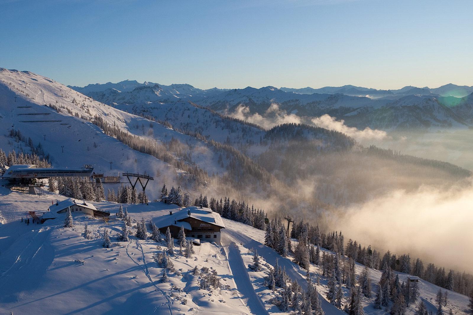 Skifahren Copyright Wagrain Kleinarl Tourimus