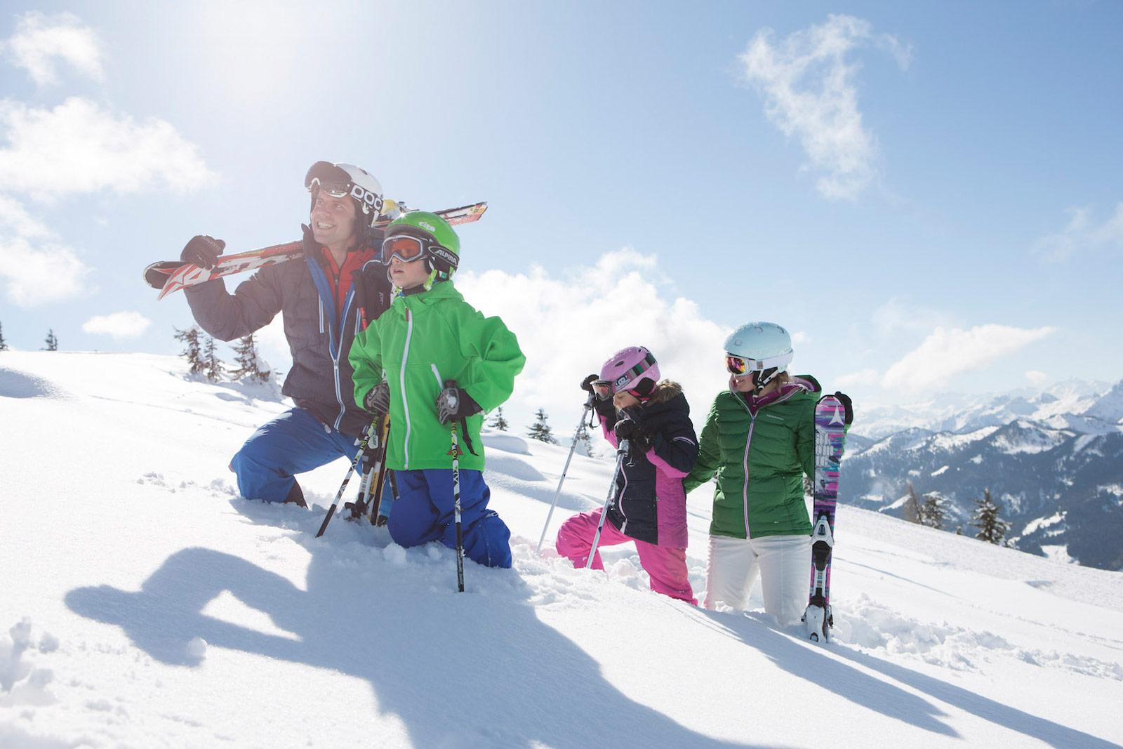 Skifahren Kleinarl Tourimus