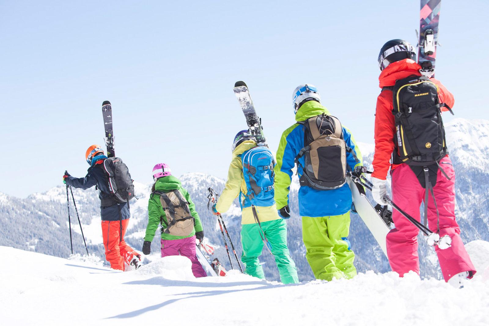 Skifahrer Copyright Wagrain Kleinarl Tourimus