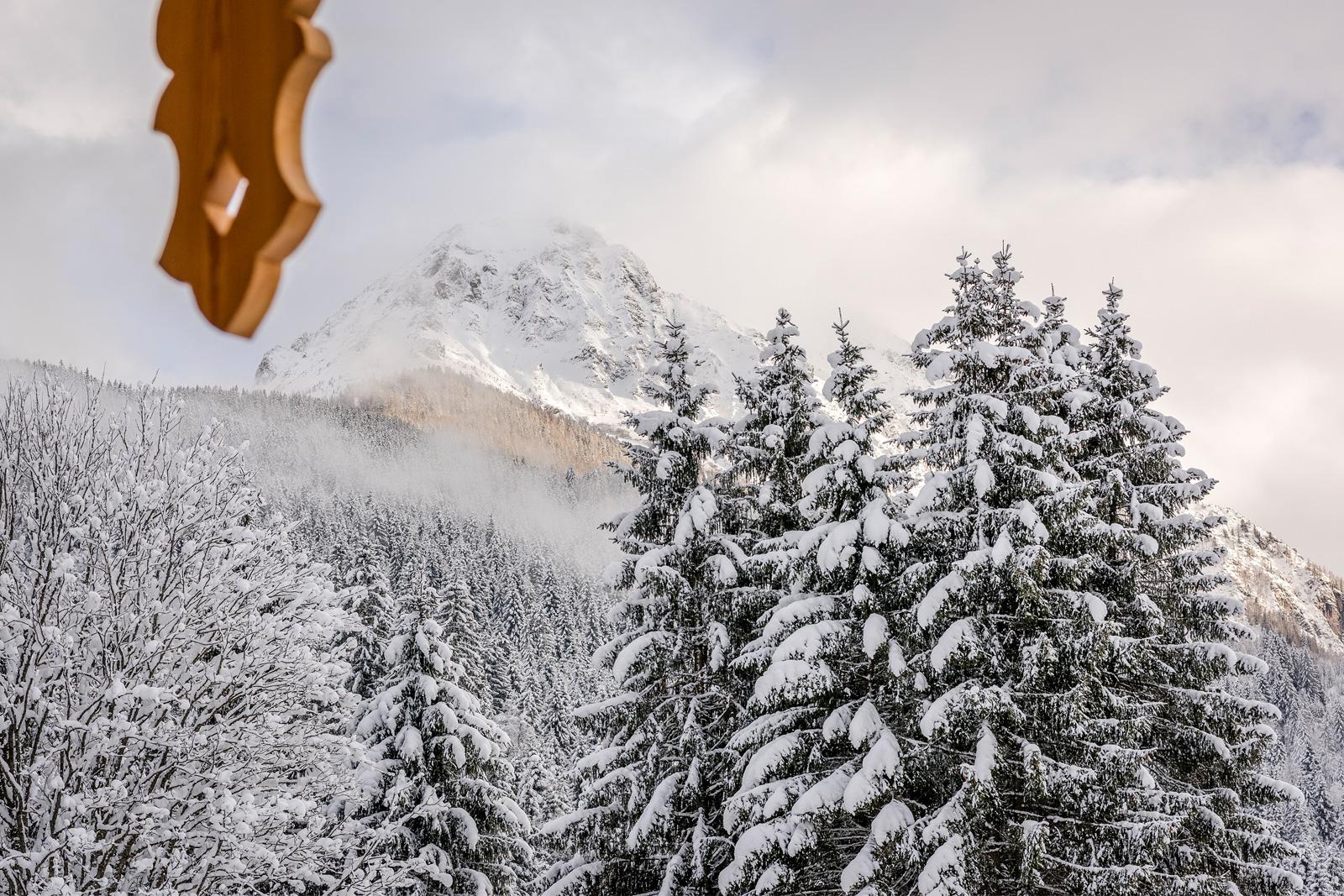 Schneelandschaft in Kleinarl