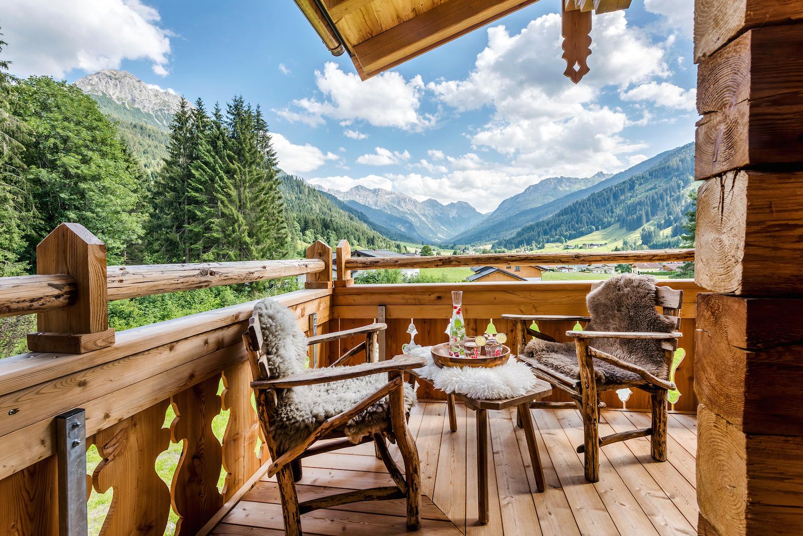 Sommerurlaub in Ihrer eigenen Lodge - Das Kleinarl